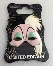 Disney Wdi D23 Expo 2017 101 Dalmatians Cruella De Vil Villain Mask Le 300 Pin