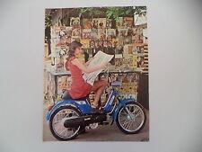 advertising Pubblicità 1977 PIAGGIO BOXER 2 50