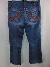 Rock & Republic Distressed Button Fly Denim Jeans Men's 32 Casual Pants Straight