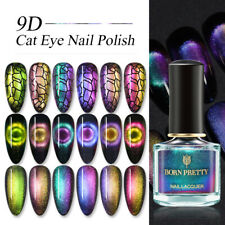 BORN PRETTY 6ml Black Hole Effect 9D Cat Eye Magnetic Nail Polish Nail Varnish