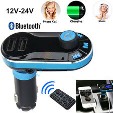 Bluetooth Car Kit MP3 Player FM Transmitter SD USB Charger High Quality
