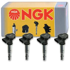 4 pcs NGK 48978 Ignition Coil for U5015 IC726 E1123 GN10322 UF575T IC655 ff