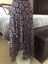Boho Long Skirt 14 Marks and Spencer New