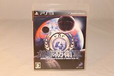 EARTH DEFENCE FORCES 4 IV EDF SONY PLAYSTATION PS3 NTSC-J IMPORT GAME
