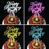 Bowknot Cake Topper Happy Birthday Party Supplies Decor Fashion Practical DIY