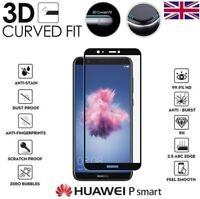 For Huawei P Smart 2018 Genuine Full 3D Tempered Glass 9H Screen Protector Cover