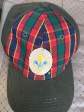 Cub Scout Webelos Rank Scout Cap BSA Uniform Hat Medium/Large Fitted back