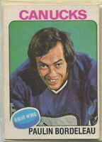 1975-76, O-PEE-Chee, Hockey, # 127-250, includes variation, error cards