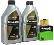 2012 Kawsaki KLX250TCF (KLX250S)  Full Synthetic Oil Change Kit