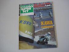 MOTOSPRINT 38/1978 PROVA TEST MOTO HONDA CB 125 ENDURANCE