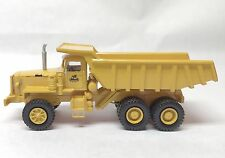 HO 1/87 MACK LRVSW 6x4 34tons -Yellow - Ready Made Resin Model