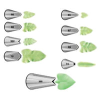 Wilton Leaf Leaves Nozzle Tips for Piping Icing Cup Cake Sugarcraft Decorating
