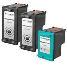 3 74XL 74 75XL 75 HY Black & Color Printer Ink Cartridge for HP PhotoSmart C4435