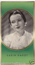 KARIN HARDT ACTRESS ACTRICE GERMANY DEUTSCHLAND ALLEMAGNE IMAGE CARD 30s