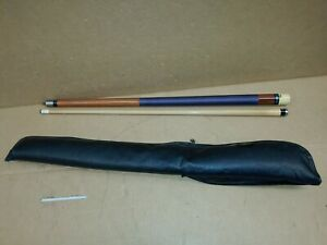 Vintage Viking Pool Cue Made In USA Billiard Pool Cue Stick with case