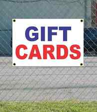 2x3 GIFT CARDS Red White & Blue Banner Sign NEW Discount Size & Price