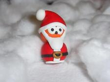 ** santa zingy mascotte-fait main fimo keychain collier charme **