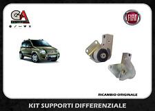 KIT SUPPORTI DIFFERENZIALE POSTERIORE PANDA 169 4x4 DAL 2003 ORIGINALI FIAT