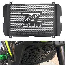 Kühlerabdeckung Kühlergrill Schutz Schwarz für Kawasaki Z 900 2017 2018 2019