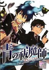 Blue Exorcist Anime DVD (Vol 1-25 End + Movie) with English Dubbed