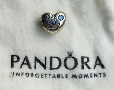 Authentic Pandora Sterling Silver It's A Boy Charm 791281CZB Preowned