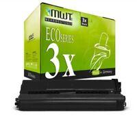 3x MWT Eco Cartucho Negro XXL Compatible para Brother MFC-L-8600-CDW