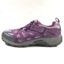 Merrell Kids Moab Ventilator Wineberry Girls Sz 7 Purple Hiking Shoes