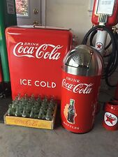 ICE COLD coca cola vintage Westinghouse Jr. Cooler And Trash Can!