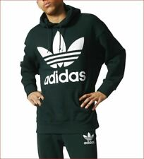 new ADIDAS men OVER-SIZED hoodie jacket sweatshirt 118217549 green sz M $90