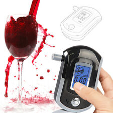 Hot Digital LCD Police Breath Alcohol Tester Analyzer Detector Breathalyzer