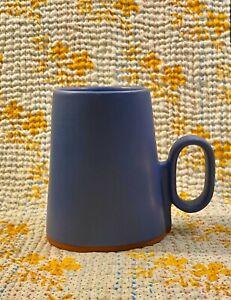 Eshelman Studio Handmade Mug Blue Ceramic Pottery Cup Vessel 10 oz.