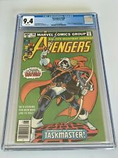 Avengers 196 CGC 9.4 1st full appearance Taskmaster WHITE pages newsstand