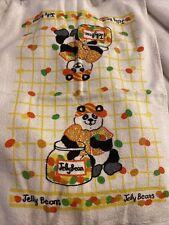 Leshner Jelly Beans Dish Kitchen Hand Towel Panda Vintage