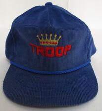 TROOP HAT CAP ZIPBACK VINTAGE RETRO VTG CREW MENS LL COOL J CORDUROY TRUCKER