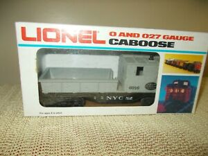 LIONEL NYC WORK TRAIN CABOOSE 6-6916, IOB, EXCELLENT,  O SCALE