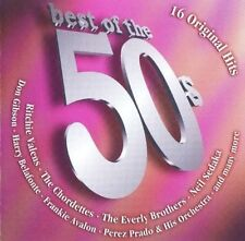 Best of the 50s 16 ORIGINAL HITS Chuck Berry Bill Haley Perez Prado Ricky Nelson