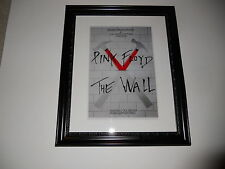 """Large Framed Pink Floyd The Wall LIVE Nassau NY 1980 Poster, 24"""" by 20"""""""