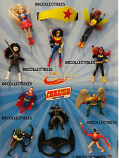 2016 MCDONALD'S DC JUSTICE LEAGUE & SUPERHERO GIRLS SETS - FREE PRIORITY SHIP