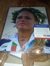 Psa Dna Jennie Finch Signed 8X10 Usa Olympic Softball Photo