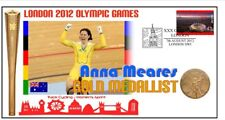 ANNA MEARES 2012 OLYMPIC AUSTRALIA CYCLING GOLD COVER 2