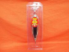 """NICHOLS LURES 6.5"""" Ben Parker Mini Magnum Spoon #6FS1-25 Silver Chrome"""