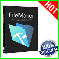 FileMaker PRO 18 Advanced Genuine lifetime license MacOS & Windows