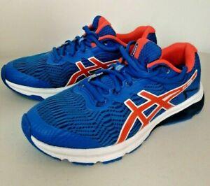 ASICS Trainers GT-1000 Size 37.5 (Boys/Girls) Blue & Orange (Used - Very Good)