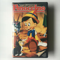 Walt Disney's Pinocchio. VHS Video Tape Original 1940 Classics Cartoon Vintage