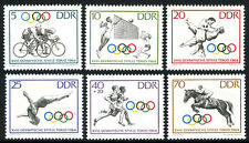 Germany DDR/GDR 706-710,B118, MNH. Olympic Games, Tokio, 1964