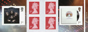 GB Music Stamps 2020 MNH Queen Album Covers Machin 6v S/A Booklet