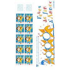 Carnet Croix-Rouge CR2048 - Fêtes de fin d'année - CR (3288a) - 1999