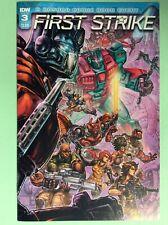 First Strike #3 cover A (IDW) Transformers / G.I. Joe