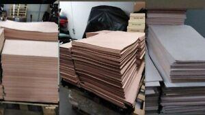 11/12 OZ (5.2/5.6 mm) 10''X 18'' European Import Veg TAN Cow Leather Natural...