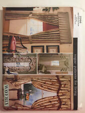 Vintage Vogue Patterns For Living 2266 Drapes & Shades Curtains New Uncut